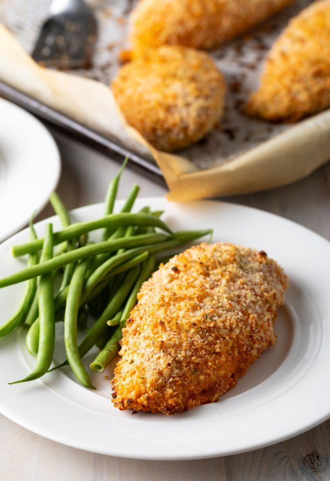 crispy baked buffalo chicken breast recipe