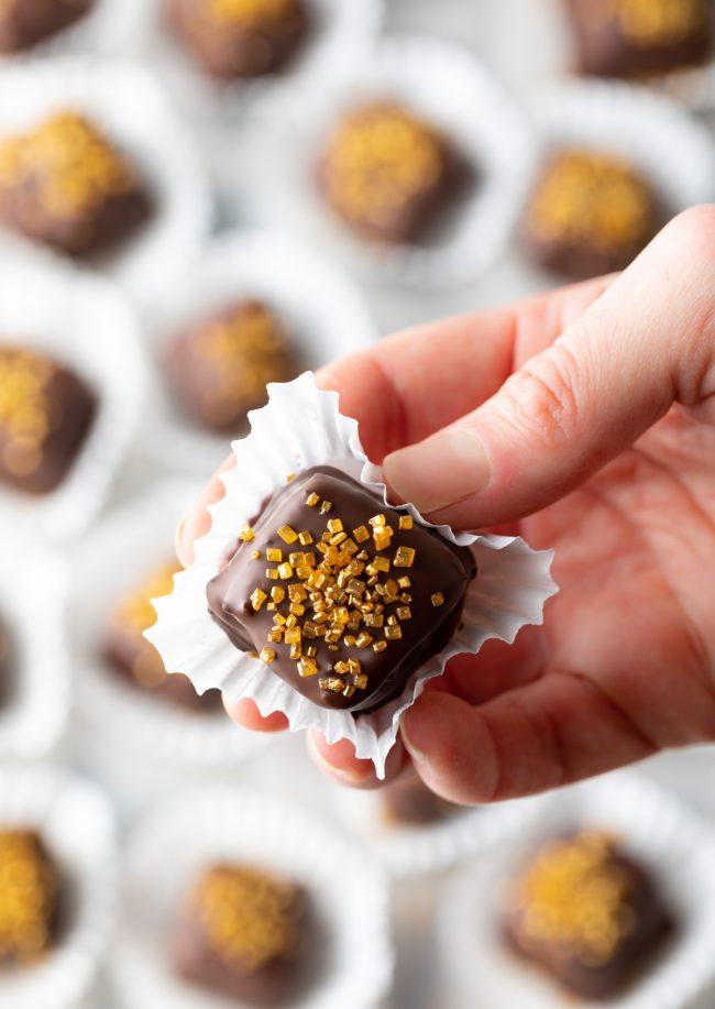 easy chocolate petit fours recipe mini cake