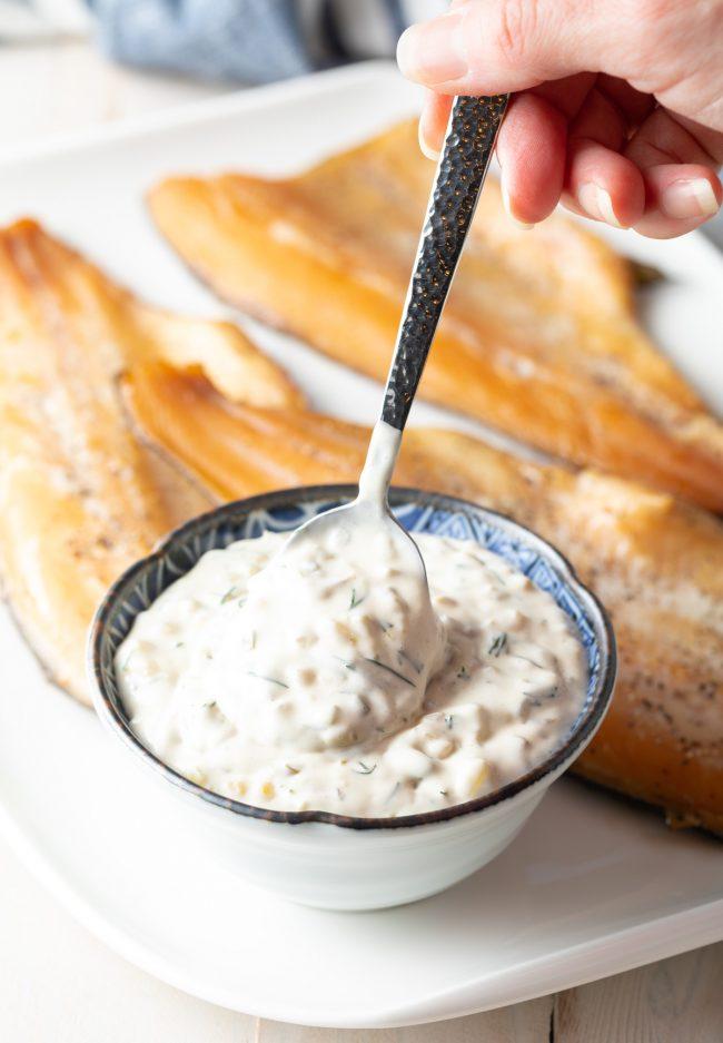 creamy zesty homemade tartar sauce
