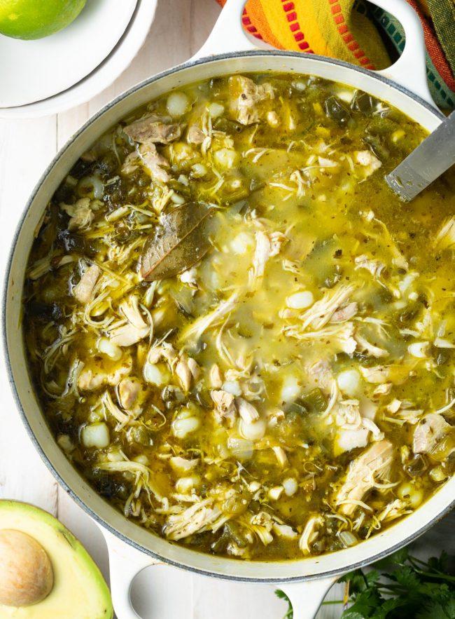 easy chicken posole recipe