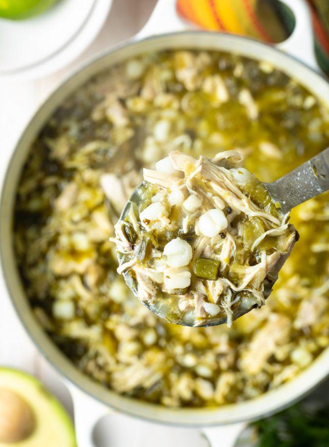 pozole verde recipe