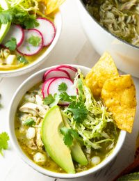 chicken pozole verde recipe