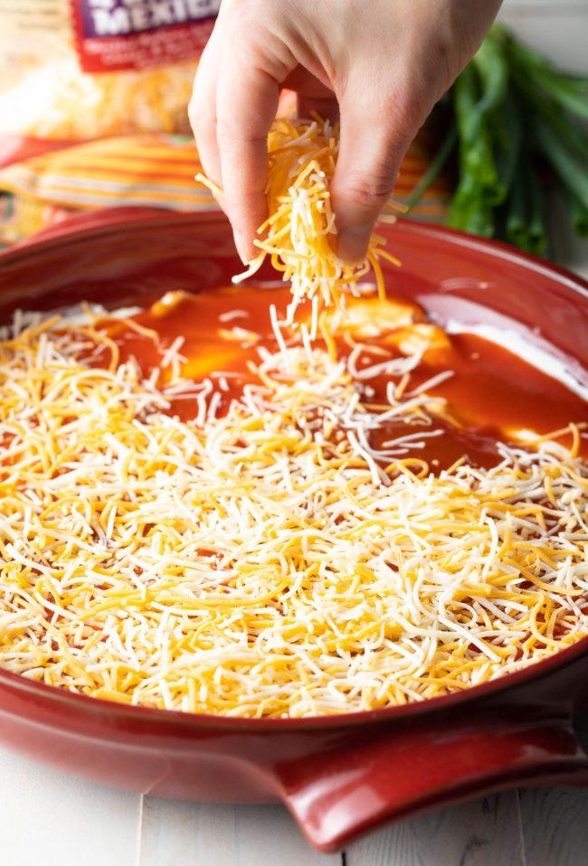 sprinkle on cheese