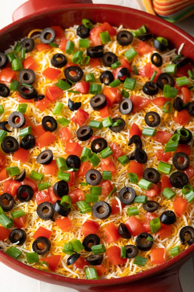 pizza taco dip