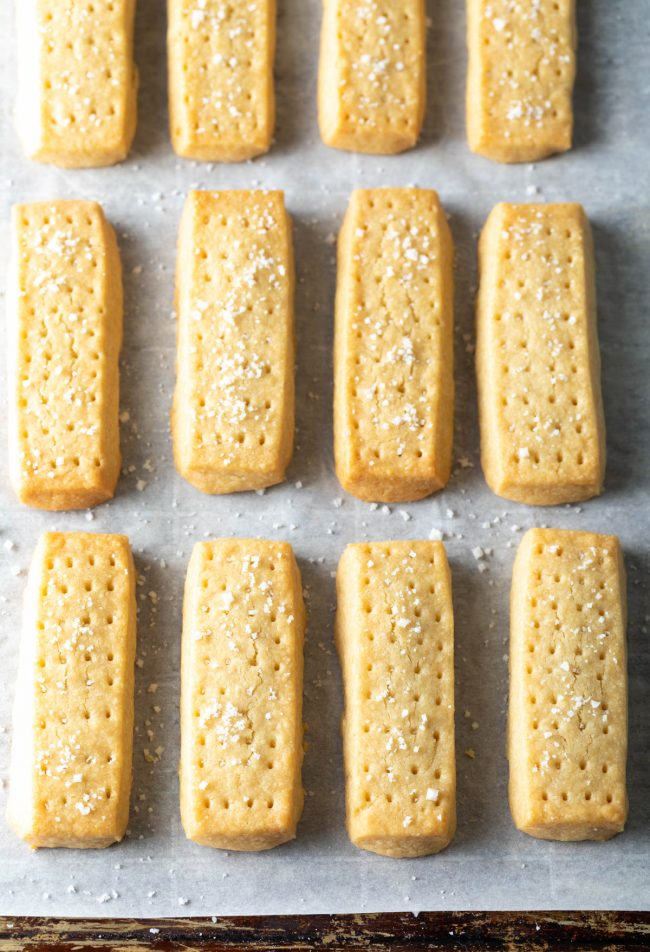 best shortbread cookies recipe with sea salt