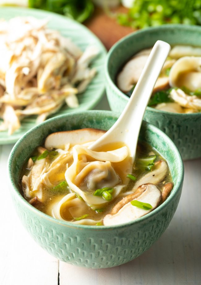 wor chicken wonton soup