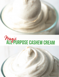magic cashew cream
