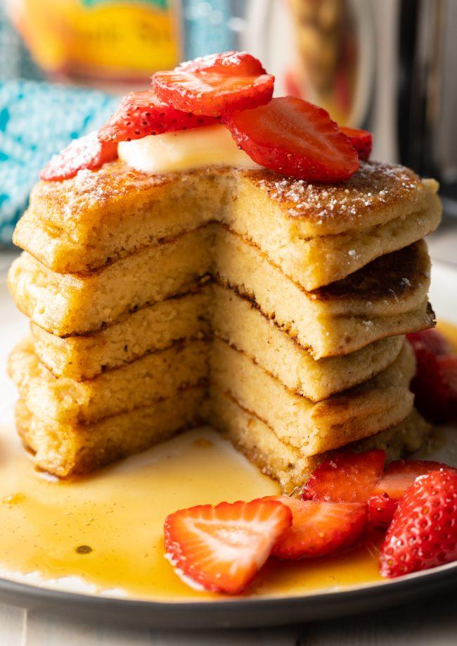 pancakes made with almond flour