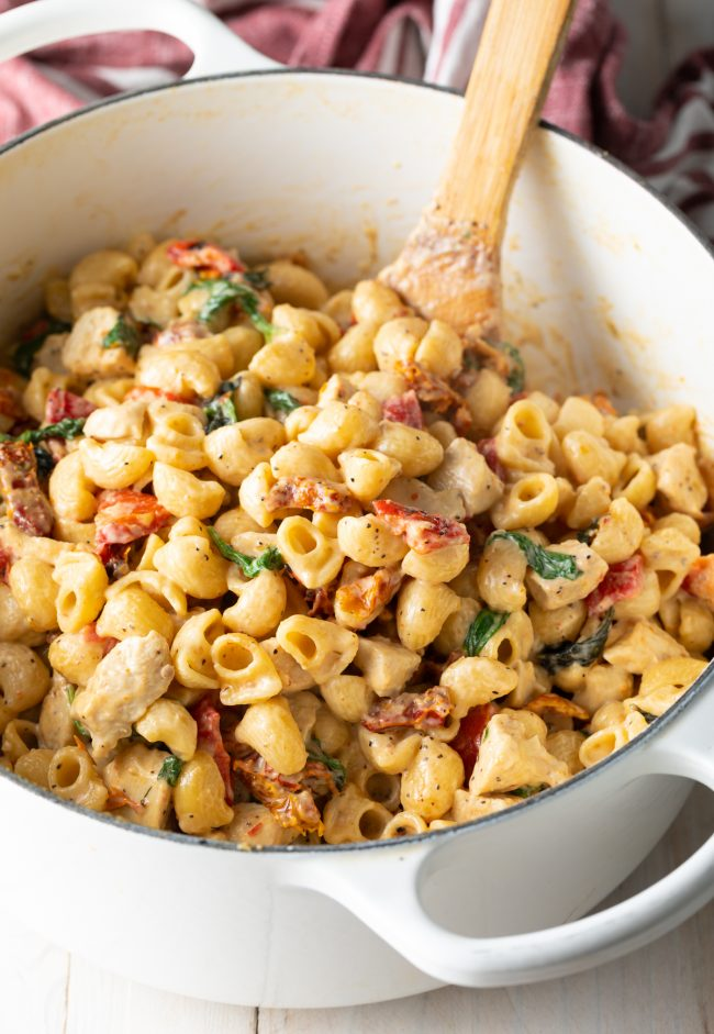 creamy tuscan chicken pasta recipe