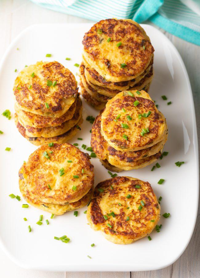 how to pan fry potato cakes