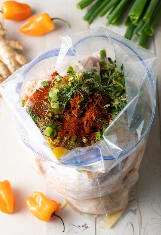 marinade in a bag