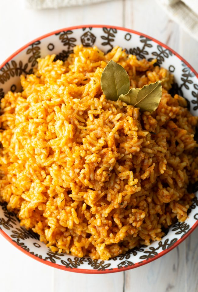 how to make west african rice with spices