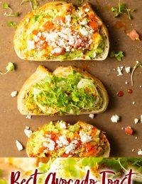 best avocado toast with egg