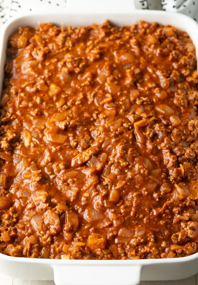 zesty tomato meat sauce