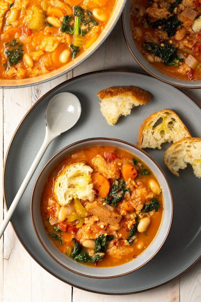 ribollita bread soup recipe