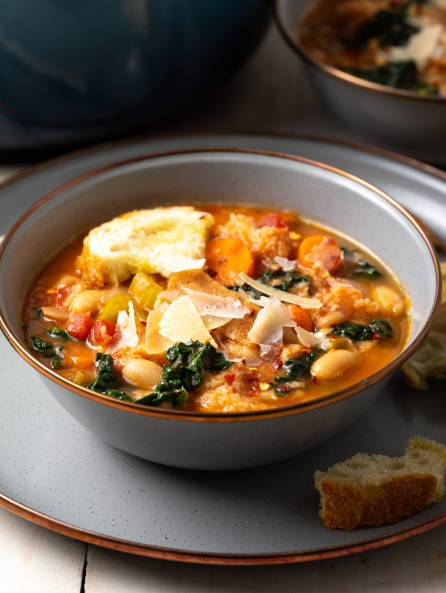 ribollita soup aka tuscan white bean soup