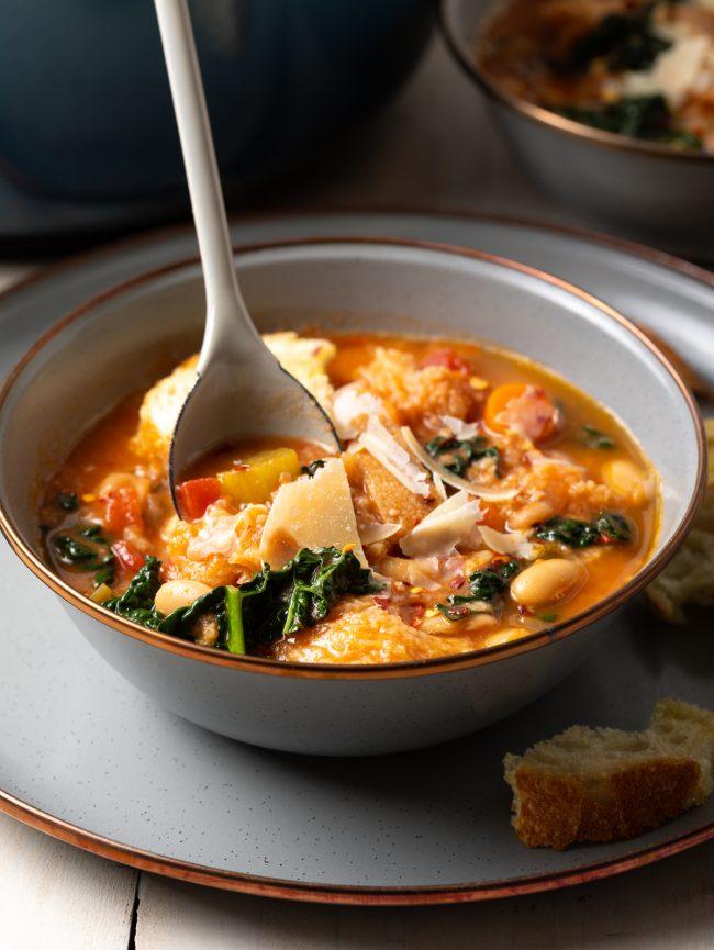 tuscan white bean soup ribollita