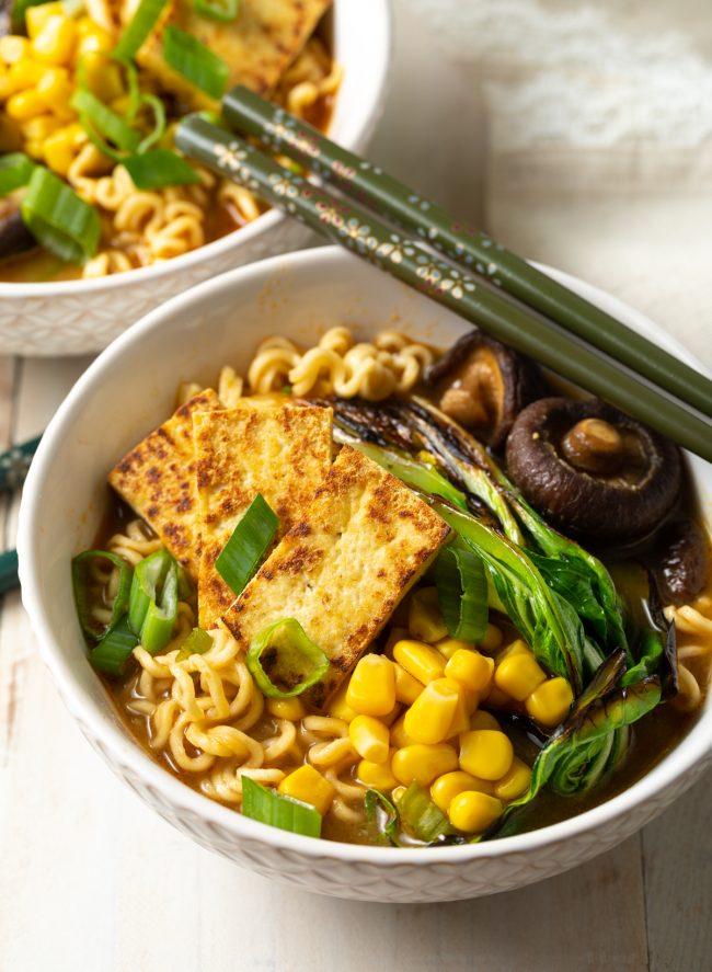 spicy vegan ramen recipe
