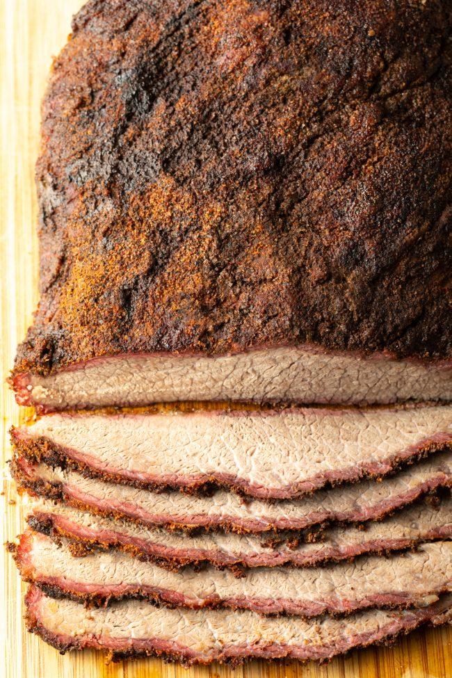 smoked beef brisket recipe with dry brine