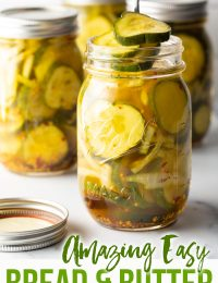 bread and butter pickles made from scratch