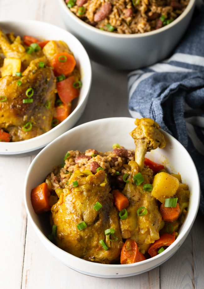 how to make an authentic Jamaican chicken curry recipe