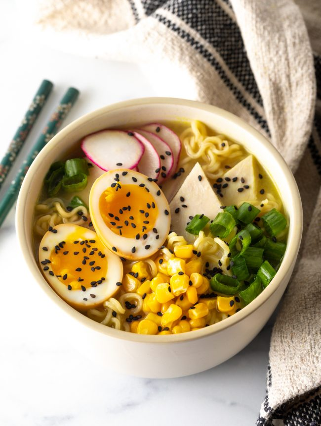 ramen egg recipe for enjoying with noodle soup