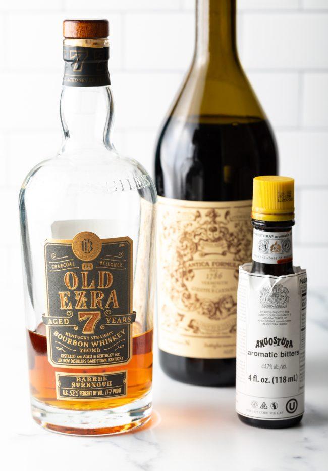 bourbon vs. rye whiskey