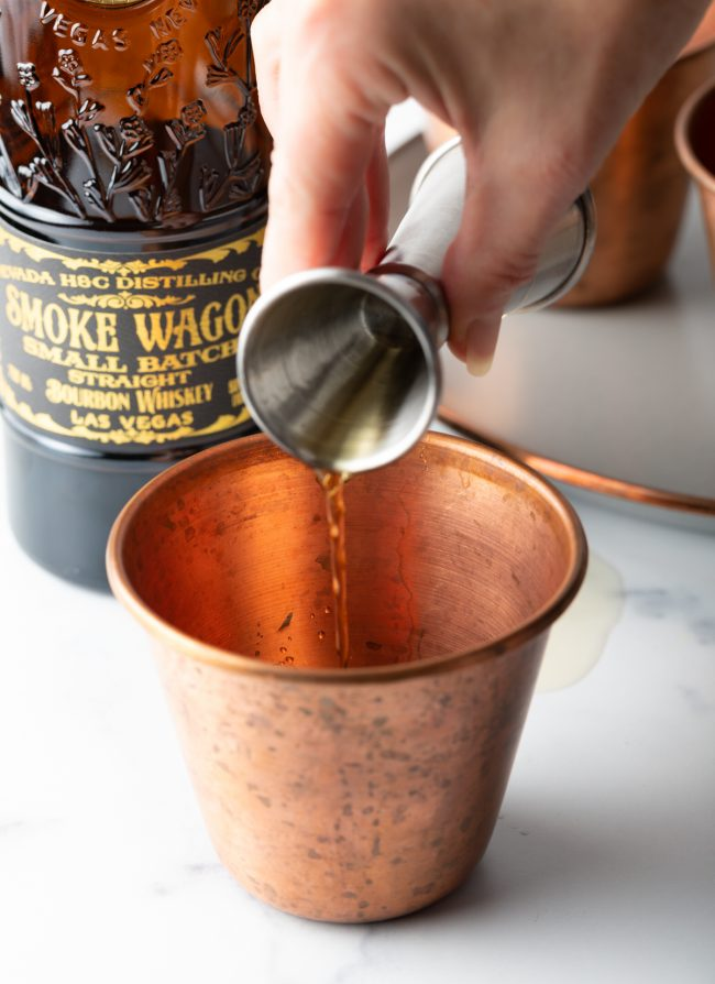 what is in a mint julep