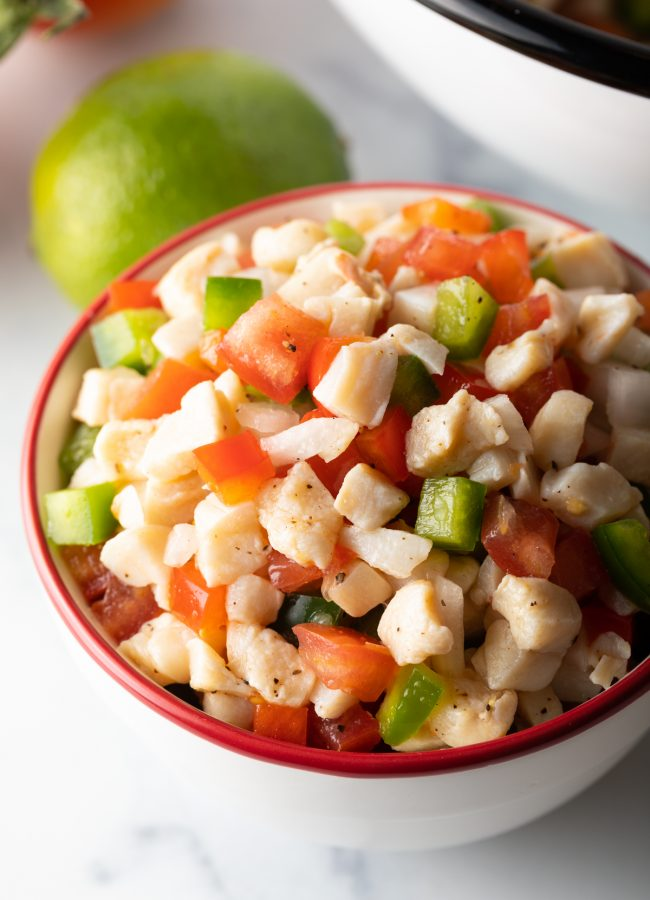 bahamian food classic, conch salad recipe to make at home