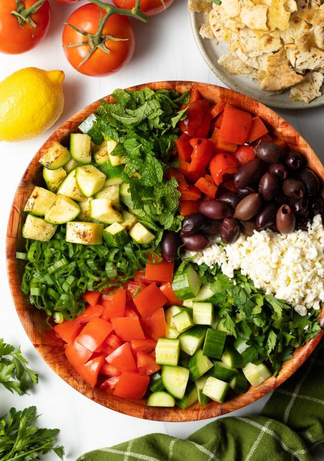 Fattoush Chopped Salad