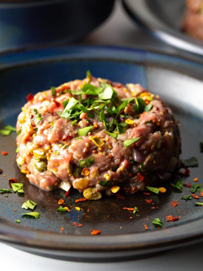 authentic steak tartare recipe