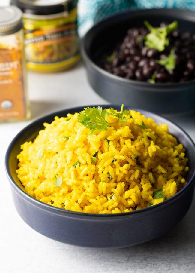fluffy yellow rice recipe aka arroz amarillo