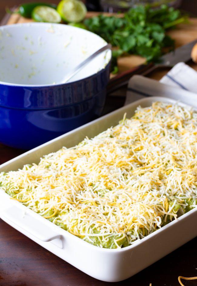 enchiladas verde recipe
