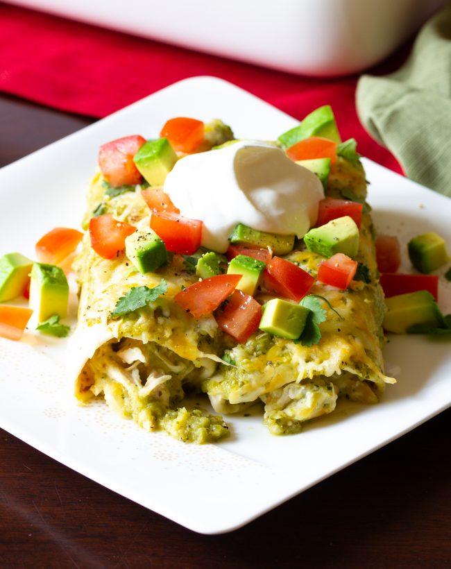 Chicken Enchiladas Salsa Verde Recipe